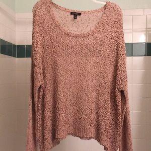 Jessica Simpson loose knit sweater